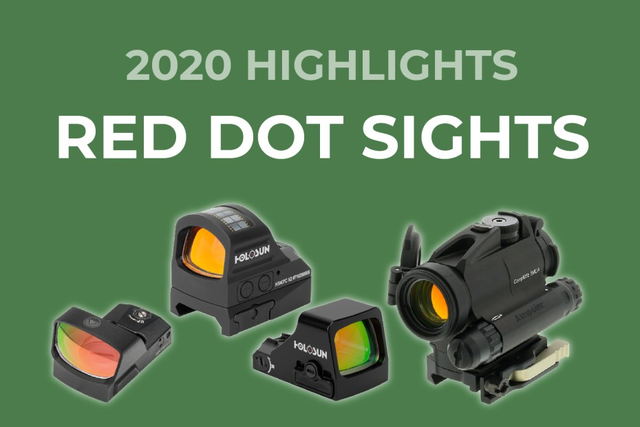Red Dot Sights 2020 Highlights