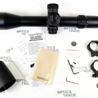 Sightron SVIII 5-40x56 ED Zero Stop IR Riflescope (image source: Optics Trade)