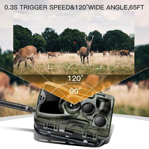 Suntekcam 4G LTE Cellular Trail Game Cameras