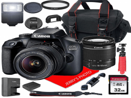 Canon EOS 4000D DSLR Camera 2020
