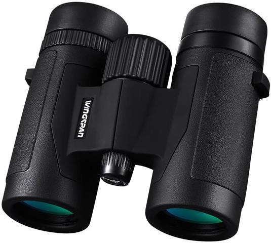 Wingspan Optics FieldView 8X32 Compact Binoculars For Bird Watching