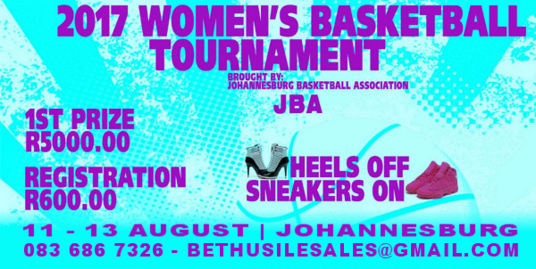 The 2017 Women's Basket Ball Tournament is here