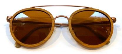 Holzbrille Waidzeit Meerblick 50/23-138 Walnuss