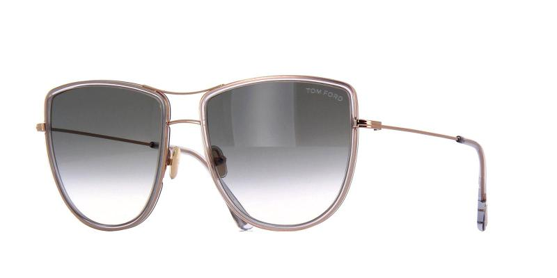 TOM FORD TF759 SUN 28B Metall 43