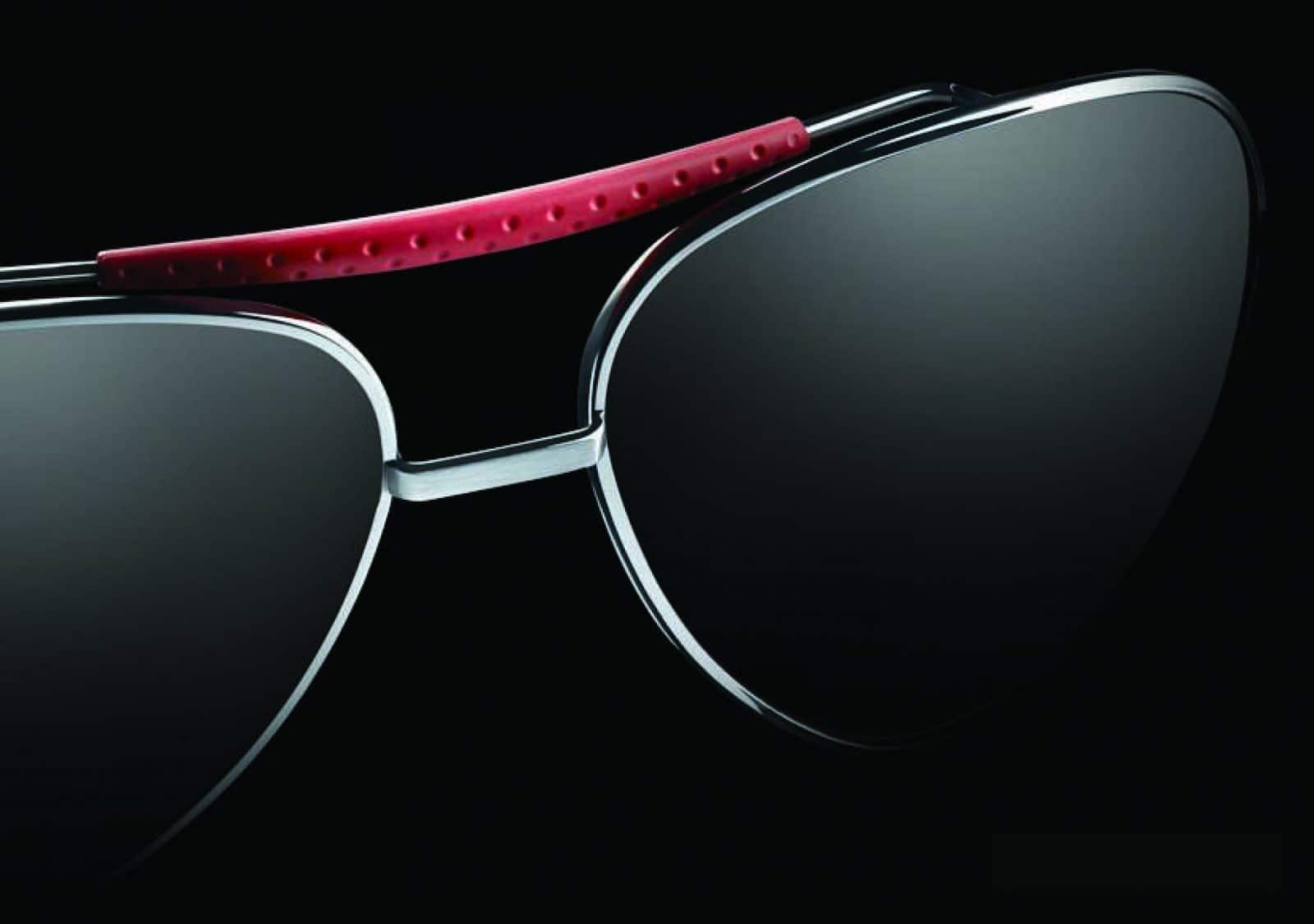 Foto einer Sonnenbrille aus der Kollektion TAGHeuer