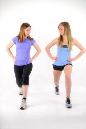 Optimal Body Lunge Coaching