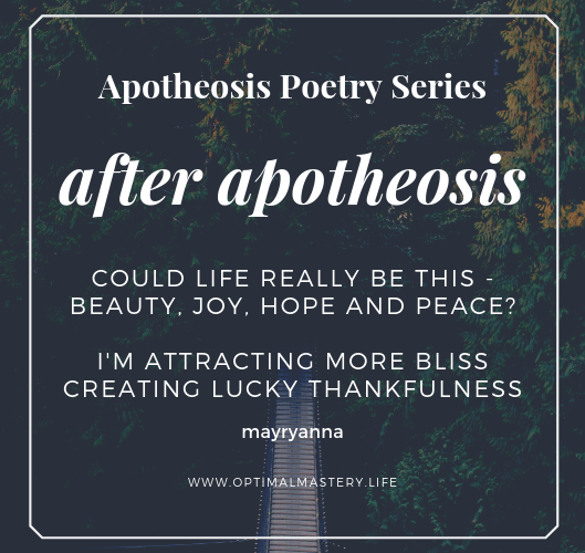 Apotheosis Poetry Series: After Apotheosis