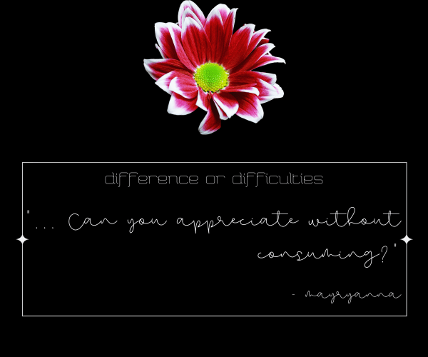 difference or difficulties