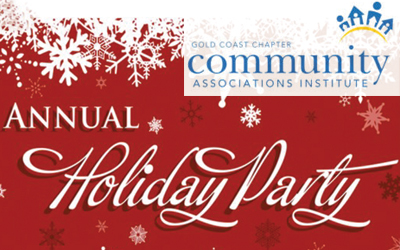 CAI Gold Coast Chapter: Annual Holiday Party 11/30/2018