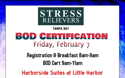 Stress Relievers BOD Certification 2-7-20