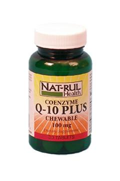 Co Enzyme Q-10 Plus Chewable
