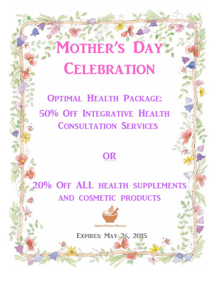 Mothers Day Discount