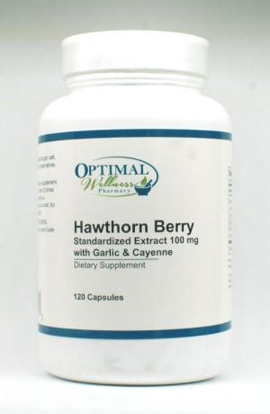 Hawthorn Berry Extract (Standardized Extract 100 mg with Garlic & Cayenne)