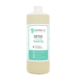 DETOX Ultra-Pure Bentonite Clay for Dogs & Cats