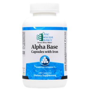 ALPHA BASE CAPSULES W/ IRON