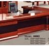 Bureau Marron chocolat +Retour MDF A-8003[300X160X76]