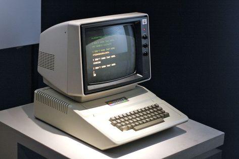 Apple II. Photo by Marcin Wichary