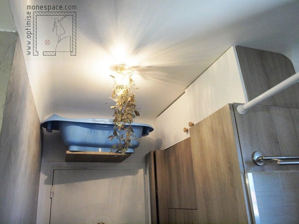 baignoire petit espace trendy astuce pour amnagement duune salle de bains with baignoire petit. Black Bedroom Furniture Sets. Home Design Ideas