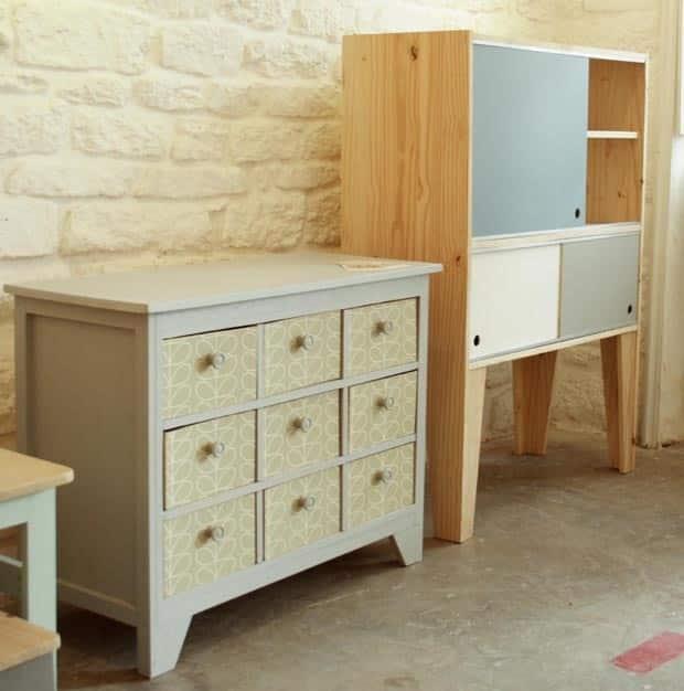 Meubles en bois fabriquer soi m me for Laquer un meuble en mdf