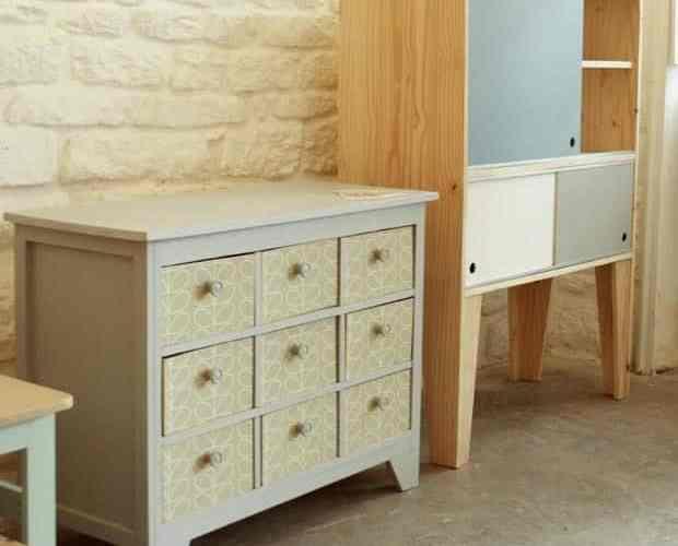 meubles en bois a fabriquer soi m me par nathalie boisseau optimise mon espace. Black Bedroom Furniture Sets. Home Design Ideas