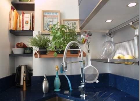plantes aromatiques en crédence