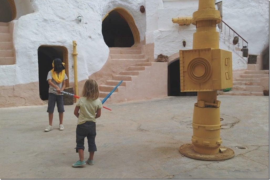 Maison troglodyte Star Wars à Matmata