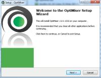 OptiMiser installer file