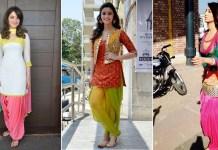 Best Patiala Suit Designs Worn By Celebrities