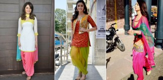 Best Patiala Suit Designs Worn By Celebrities