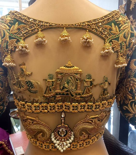 latest blouse design
