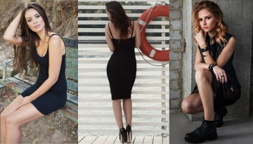 7 Sexy and Most Trendy Black Dresses Styles to crush over