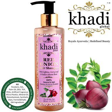 Khadi Global Onion Shampoo