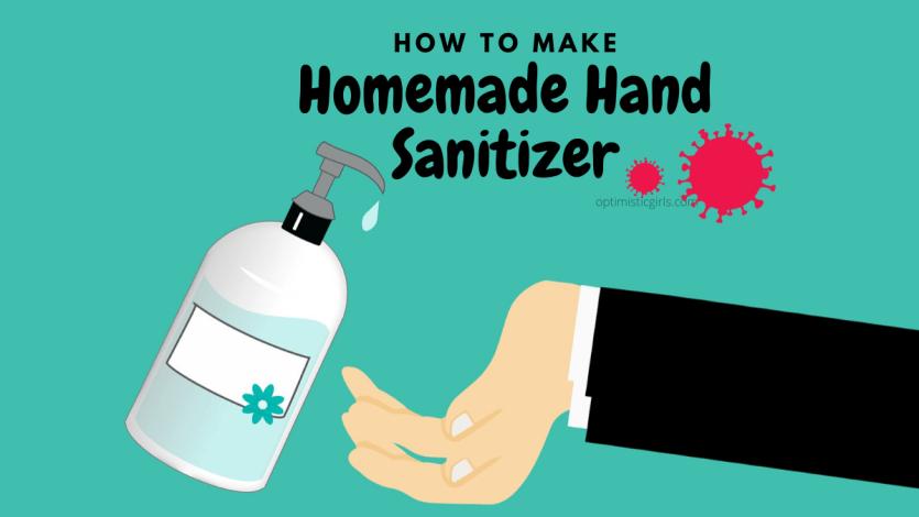How to make hand santizer