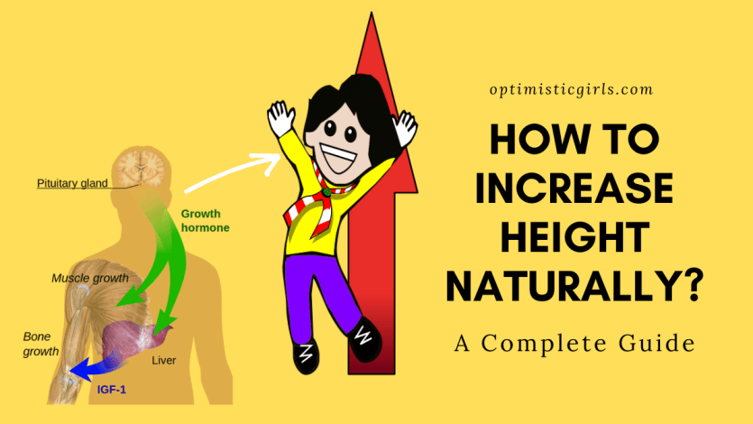 How to increase height naturally?