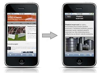 izrada sajta za mobilne telefone