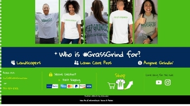 GrassGrind Website