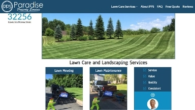 Paradise Property Services Website