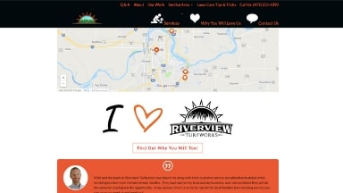 Riverview Turfworks Website