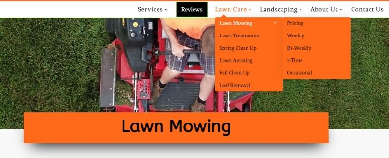 6 Pages on Lawn Mowing