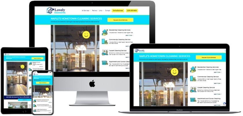 Housekeeping Website Design