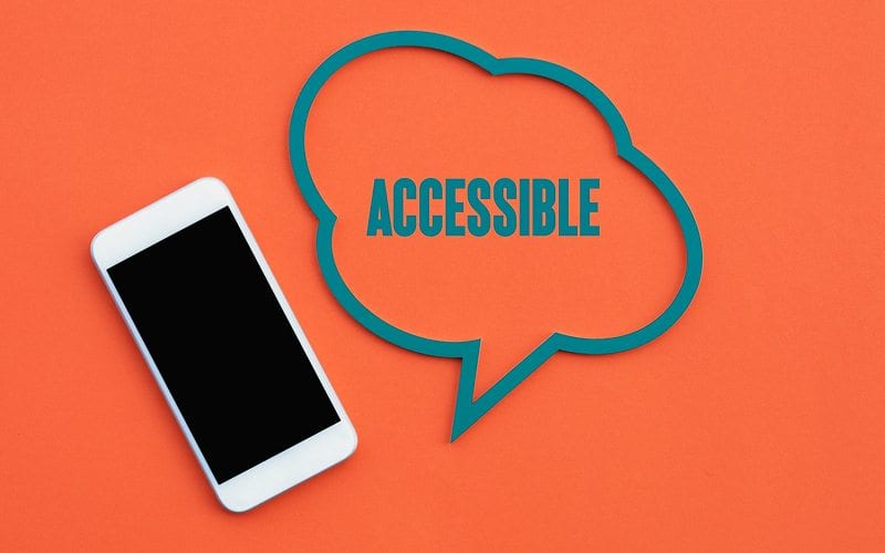 Accessibility to Mobile Device