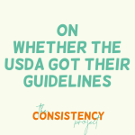 The Consistency Project