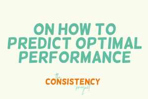 on How to Predict Optimal Performance