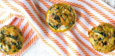 Egg Cups - Kale and Sweet Potatoe 2