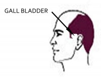 Male Pattern Baldness: Gall Bladder Issues