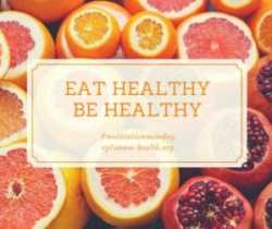 eat healthy be healthy