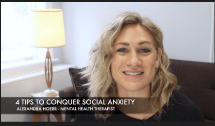 [VIDEO] 4 Tips to Conquer Social Anxiety