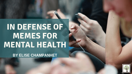 In Defense of Memes for Mental Health