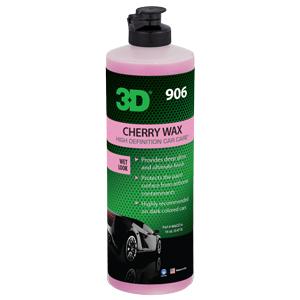 3D Cherry wax Optimum motor sports