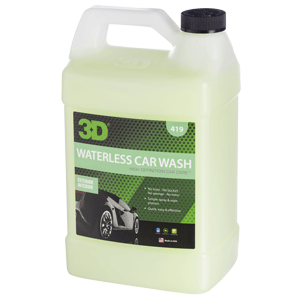 3d waterless car wash 1gal optimum motor sport